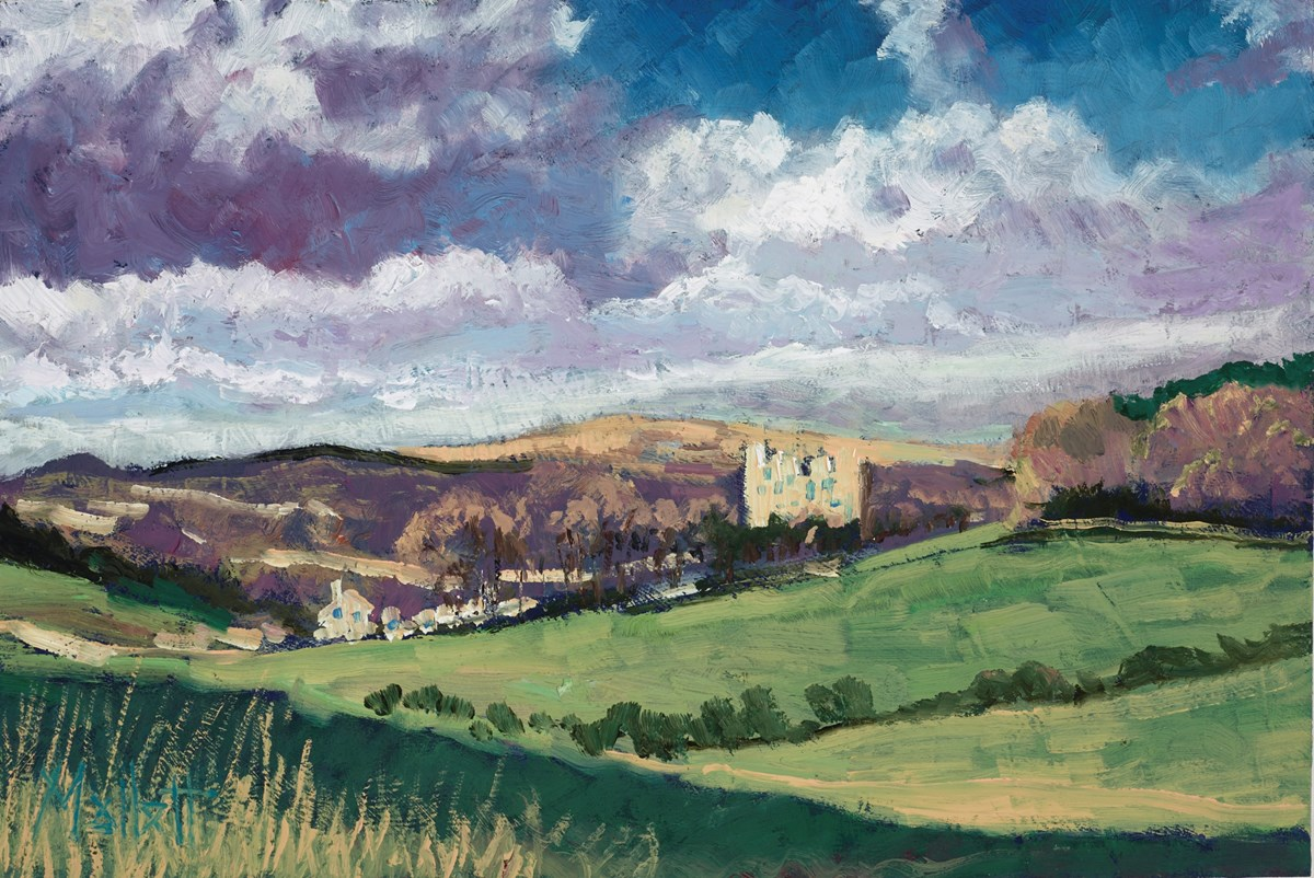 The Old Castle by timmy mallett -  sized 12x8 inches. Available from Whitewall Galleries
